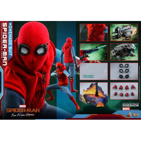 Spider-Man: Far From Home (Homemade Suit Version) figurine 1:6 Hot Toys 905176