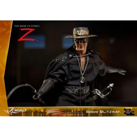 """Zorro 12 inch Figure  Alejandro Murrieta """"Zorro"""" - The Mask of Zorro (1998) by Blitzway 903713"""