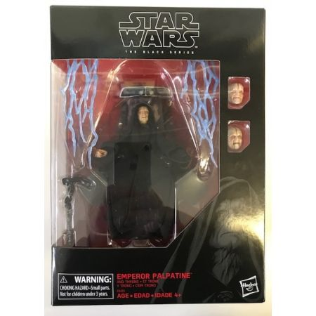 Star Wars The Black Series 6-inch - Emperor Palpatine and Throne Exclusif Hasbro
