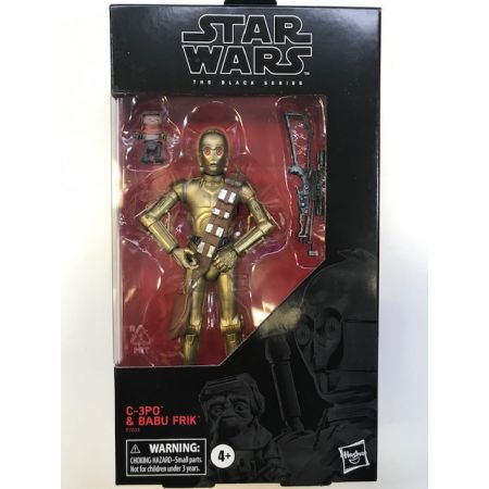 Star Wars The Black Series 6-inch - C-3PO & Babu Frik Exclusive Hasbro