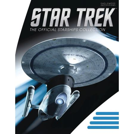​Star Trek Starships Figure Collection Mag  U.S.S. Excelsior NCC-2000 Eaglemoss