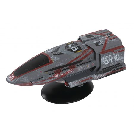 Star Trek Discovery Figure Collection Mag #19 Discovery Shuttle Eaglemoss