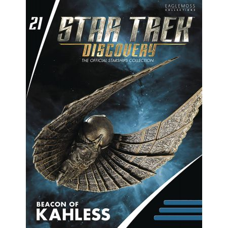 Star Trek Discovery Figure Collection Mag #21 Beacon of Kahless Eaglemoss