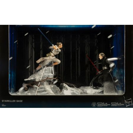 Star Wars The Black Series 6-inch - Starkiller Base Diorama (Rey and Kylo Ren) Exclusive