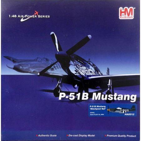 P-51B Mustang Blackpool Bat 1:48 HobbyMaster HA8512