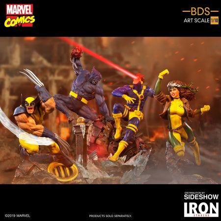 Beast Statue 1:10 Iron Studios 905481