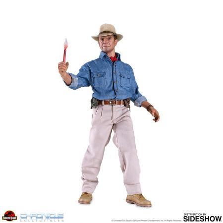 Dr Alan Grant (Parc Jurassique) figurine 1:6 Chronicle Collectibles 905381
