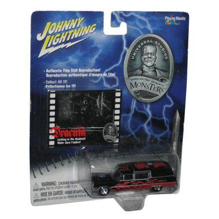 Dracula '66 Cadillac Hearse 1:64 Johnny Lightning 369-00