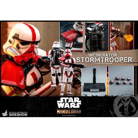 Incinerator Stormtrooper (The Mandalorian) figurine 1:6 Hot Toys 905801