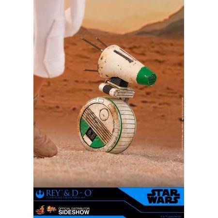 Rey et D-O figurines 1:6 Hot Toys 905520Rey et D-O figurines 1:6 Hot Toys 905520