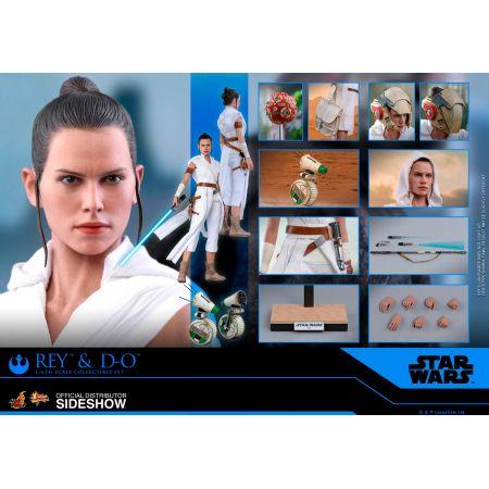 Rey et D-O figurines 1:6 Hot Toys 905520