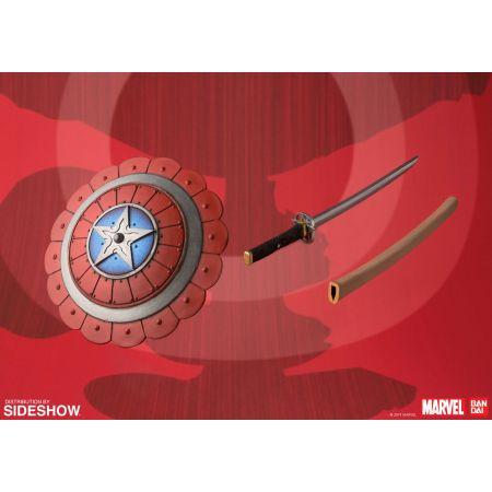 Captain America Samouraï figurine 7 po Bandai 905418