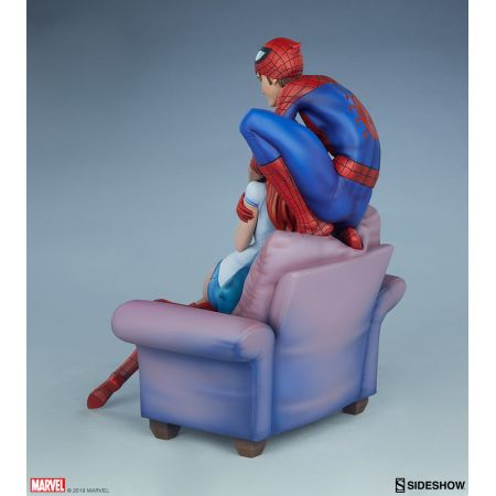 Spider-Man et Mary Jane Maquette Sideshow Collectibles 200556