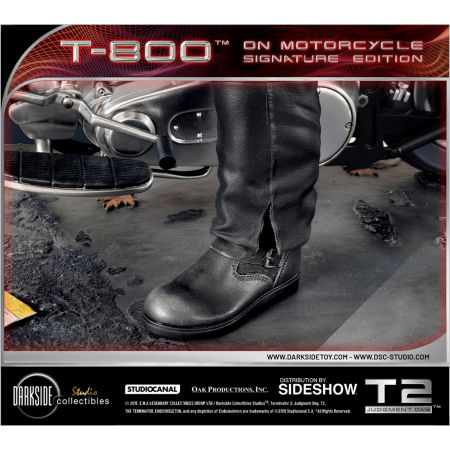 T-800 sur Motocyclette Statue 1:4 DarkSide Collectibles Studio 905456