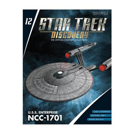 Star Trek Discovery Figure Collection Mag #12 U.S.S. Enterprise NCC-1701 Eaglemoss