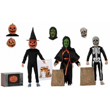 Halloween 3 Season of the Witch ensemble de 3 figurines 8 po NECA