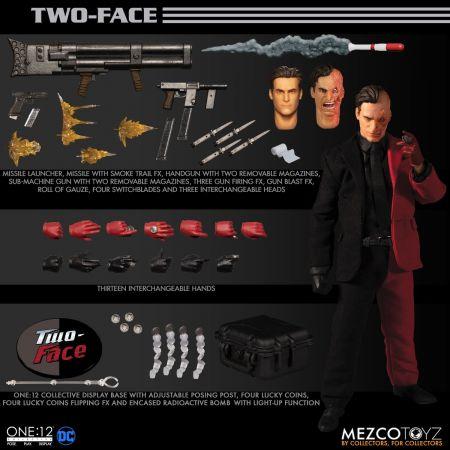 One-12 Collective Two-Face Mezco Toyz 76440