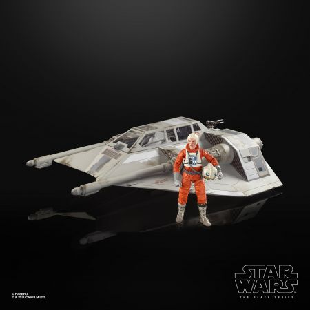 Star Wars The Black Series 6-inch Snowspeeder Vehicle and Dak Ralter Figure HasbroStar Wars The Black Series 6-inch Snowspeeder Vehicle and Dak Ralter Figure Hasbro