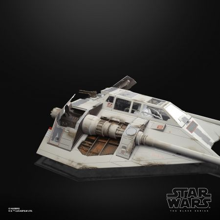 Star Wars The Black Series 6-inch Snowspeeder Vehicle and Dak Ralter Figure Hasbro