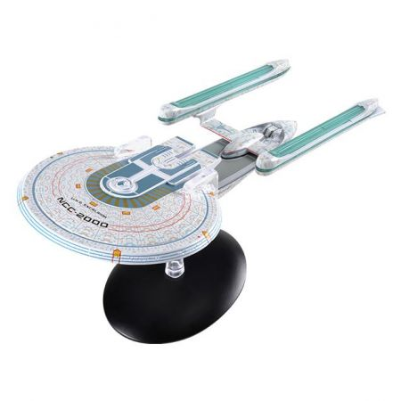 Star Trek Starships Figure Collection Mag  U.S.S. Excelsior NCC-2000 Eaglemoss