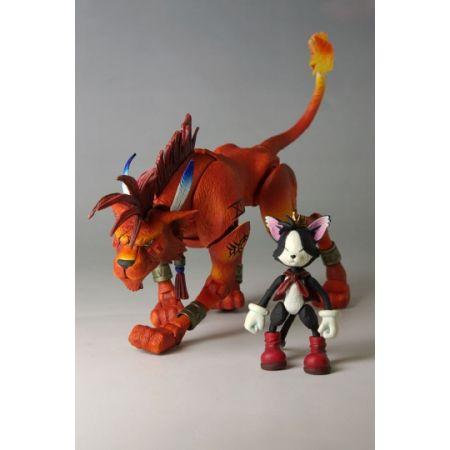 Final Fantasy VII Vol2 No4 Red XIII and Cait Sith figures Square Enix Play Arts