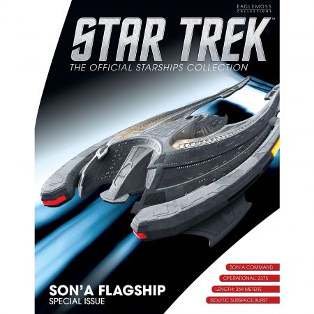 Star Trek Starships Figure Collection Mag Special #19 Sona Ship 7-inch Eaglemoss