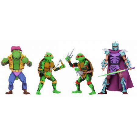 TMNT: Turtles In Time Série 2 ensemble de figurines 7 po NECA