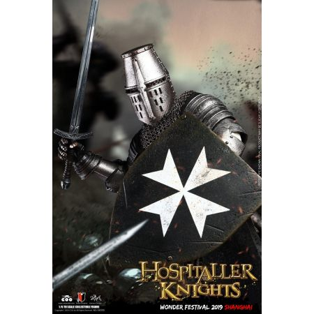 The Crusader Hospitaller Knight Wonder Festival figurine 1:6 COO Models SE050
