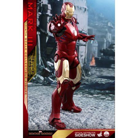 Iron Man Mark III REGULAR Version Série Quarter Scale figurine échelle 1:4 Hot Toys 903411