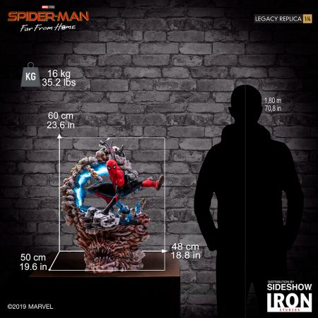 Spider-Man (Spider-Man: Far From Home) Statue 1:4 Legacy Replica Iron Studios 905681