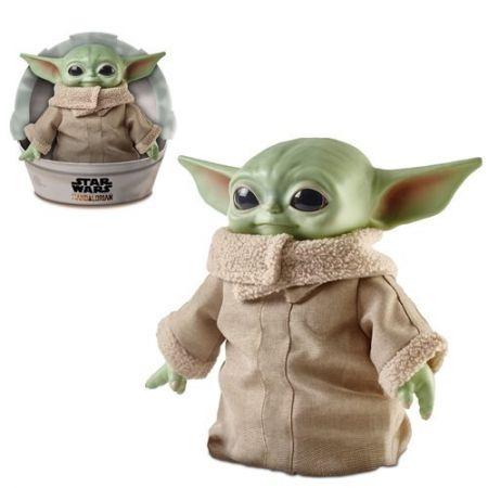 Star Wars The Mandalorian L'Enfant (The Child) (Bébé Yoda) Peluche 11 pouces Hasbro