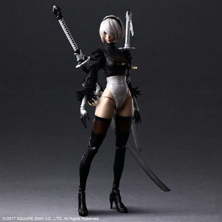 2B (YoRHa No2 Type B) Deluxe Action Figure Square Enix 907113