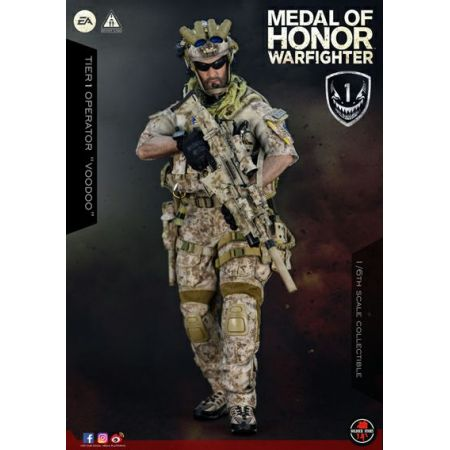 Medal of Honor Warfighter Tier One Operator Voodoo 1:6 figure Soldier Story SS106