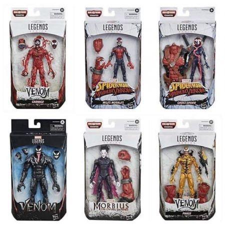 Marvel Legends Venom BAF Venompool Series Set of 6 Figures