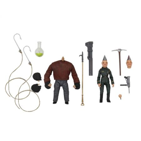 Pupper Master Pinhead & Tunneler 2 Pack 7-inch scale figures NECA 45494