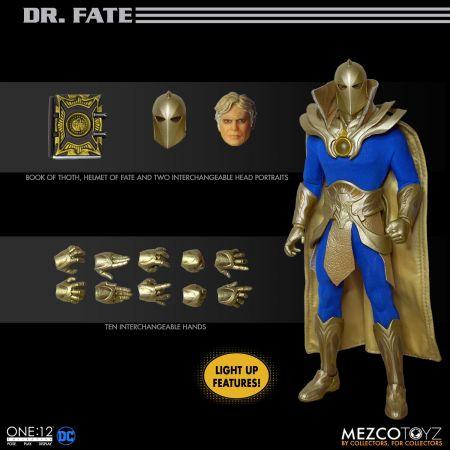One-12 Collective Dr Fate figure Mezco 77485