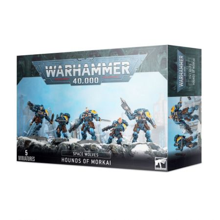 Warhammer 40,000 Space Wolves Hounds of Morkai 5 Miniatures