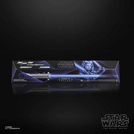 Star Wars The Black Series Ahsoka Tano Force FX Elite Lightsaber Hasbro