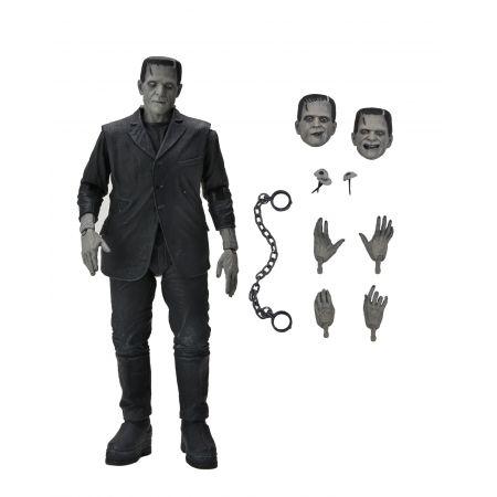 Ultimate Frankenstein's Monster (B&W) 7-inch Scale Figure NECA 04805