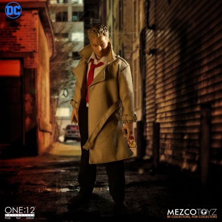 One-12 Collective DC Constantine Deluxe Edition Mezco Toyz 76083