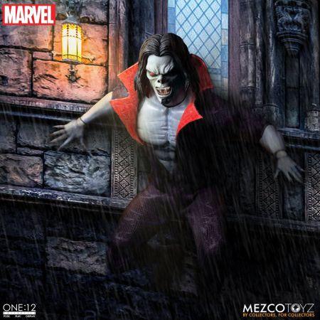 One-12 Collective Marvel Morbius Figure Mezco Toyz 76940