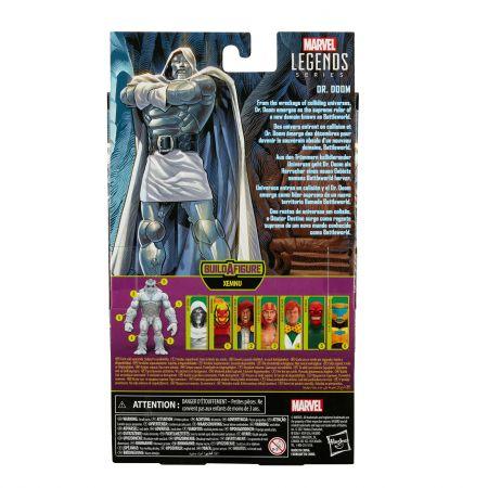 Marvel Legends Super Villains 6 pouces BAF Xemnu Series Figure - Dr Doom Hasbro