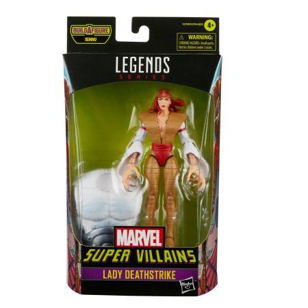 Marvel Legends Super Villains 6 pouces BAF Xemnu Series Figure - Lady Deathstrike Hasbro