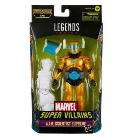 Marvel Legends Super Villains 6 pouces BAF Xemnu Series Figure - AIM Scientist Supreme Hasbro