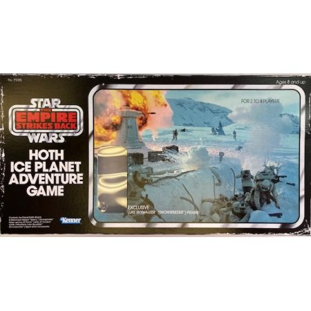 Star Wars Retro Collection Kenner Hoth Ice Planet Adventure Game Hasbro (Figure Missing)