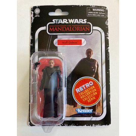 Star Wars The Mandalorian 3.75 The Retro Collection Kenner - Moff Gideon Hasbro