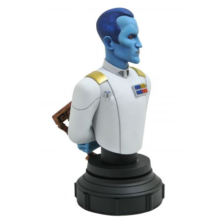 Star Wars: Rebels Grand Admiral Thrawn Animated Mini-buste Échelle 1:7 Gentle Giant 83879