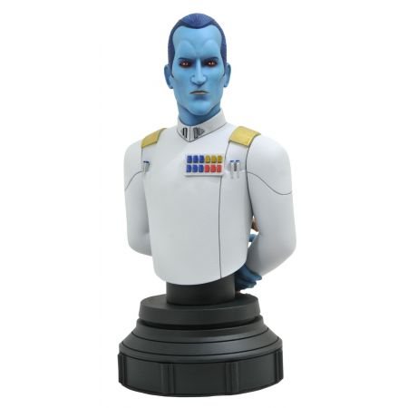 Star Wars: Rebels Grand Admiral Thrawn Animated 1:7 Scale Mini Bust Gentle Giant 83879