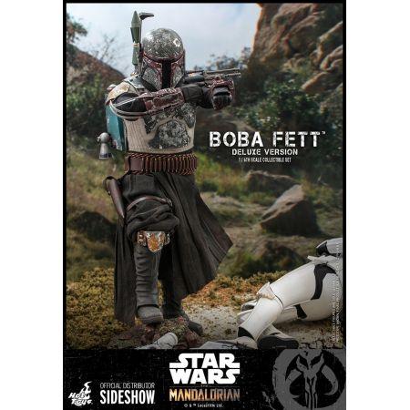 Boba Fett (Deluxe Version) 1:6 Scale Figure Set Hot Toys 907747