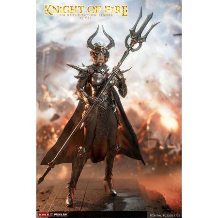 Knight of Fire (Silver) 1:6 Scale Figure TBLeague 907843Knight of Fire (Silver) 1:6 Scale Figure TBLeague 907843